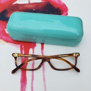 Tiffany TF2036 Eyeglasses + Case Havana Brown/Gold